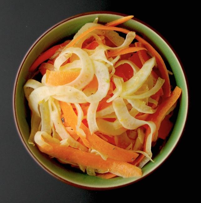 Fennikel- og appelsinsalat